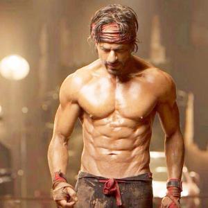 Shahrukh khan body 2018