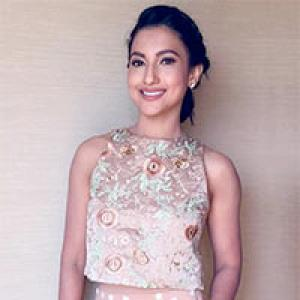 Style diaries: How Gauahar nailed it in peach!