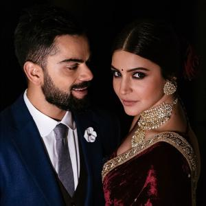 How I designed Anushka and Virat's wedding wear