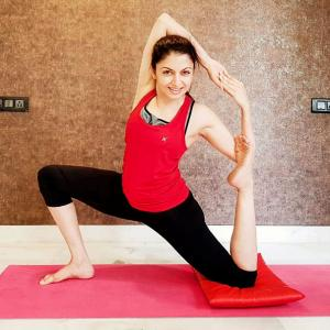 PIX: Can you flex and bend like Bhagyashree?