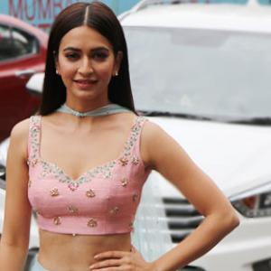 Kriti's lehenga is perfect for a monsoon wedding