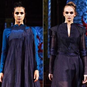 Vaishali S unveils new collection at New York Fashion Week