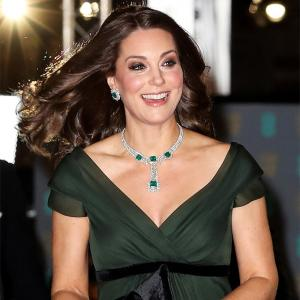 The real reason why Kate wore green to the BAFTA red carpet
