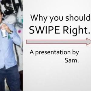 PowerPoint presentation: The reason they have more Tinder matches than you