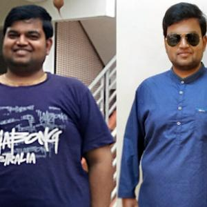 Fat to fit: This lawyer lost 23 kg in six months