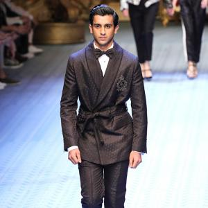 The Indian maharaja who walked the ramp for Dolce & Gabbana