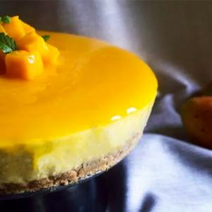 Recipe: How to make mango cheesecake at home