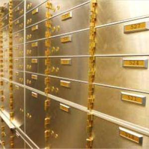 Renting a bank locker isn't easy