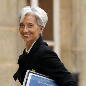 Lagarde to get India's support for IMF top job