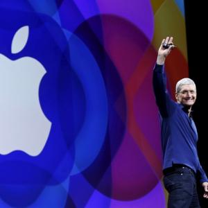 Apple posts flat growth in India