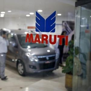 Maruti cuts sales growth forecast for current fiscal to 8%