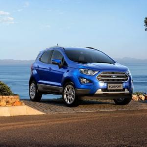 EcoSport success puts Ford on fast track to SUVs