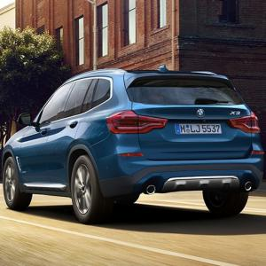 BMW X3 redefines comfort and luxury in SUVs