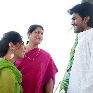 PIX: Chiranjeevi's son Ram Charan to get engaged
