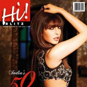 Photo: Priyanka Chopra sizzles on magazine cover