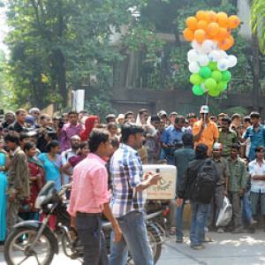 PIX: Fans celebrate Amitabh Bachchan's birthday