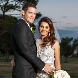 PIX: Diana Hayden gets married