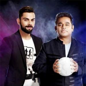 Watch: Rahman, Virat Kohli jam together
