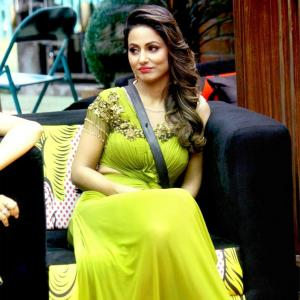 <I>Bigg Boss 11</I>: 'When Hina says something, it looks cheap'