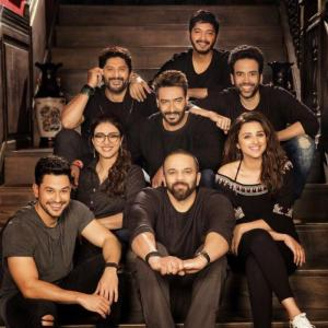 Does he have the best role in <I>Golmaal Again!!!</I>?