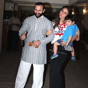 PIX: Taimur has a birthday party!