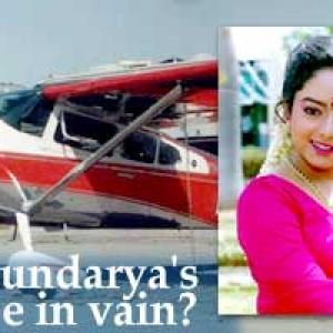 Will Soundarya's death be in vain? - Rediff com India News