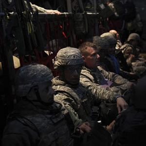 In PHOTOS: US troops leave Iraq after nine years