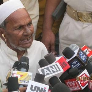 Oldest litigant in Ayodhya dispute gives up hope
