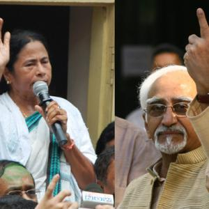 How Mamata Banerjee helped Hamid Ansari