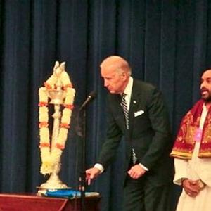 US Vice Prez Biden leads White House Diwali celebrations