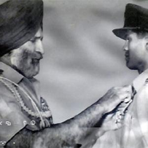 The daredevil fighter pilot who survived a Pakistani bullet - Rediff