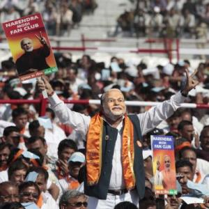 'There is a Modi wave in India'