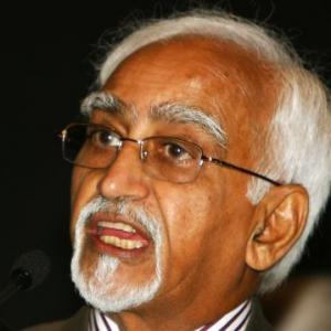 Efforts to change history by some will not succeed: Hamid Ansari
