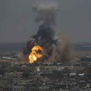 37 killed as Israel bombs Gaza, Hamas fires rockets