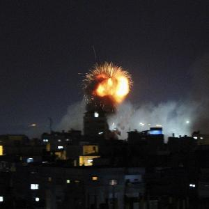 Israel continues to hammer Gaza Strip; over 100 dead