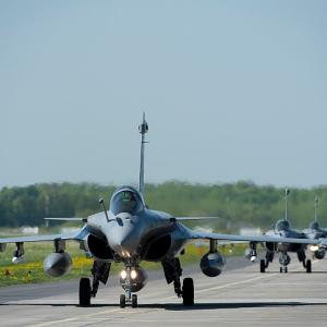 Deputy IAF chief flies first Rafale made for India