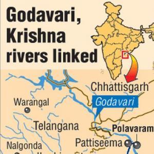 Godavari, Krishna rivers formally linked in Andhra Pradesh - Rediff on mahanadi river map, jhelum river, yangtze river, yamuna river map, meghna river map, brahma river map, chambal river map, godavari river map, brahmputra river map, states of india, coleroon river map, penner river map, indus river map, narmada river, songhua river map, brahmaputra river, ganges river, chambal river, mahanadi river, godavari river, hari river map, mekong river map, chenab river map, indus river, hindus river map, western ghats, ganges river map, chenab river, india river map, brahmaputra river map, beas river, ravi river map, ravi river, kaveri river, kaveri river map, tungabhadra river,