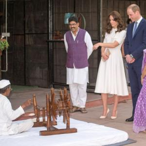 PHOTOS: After Mumbai, Wills-Kate weave their magic in Delhi