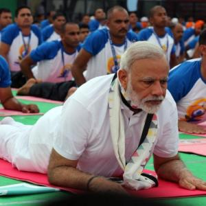 PM to perform asanas in Dehradun as country prepares for Yoga Day