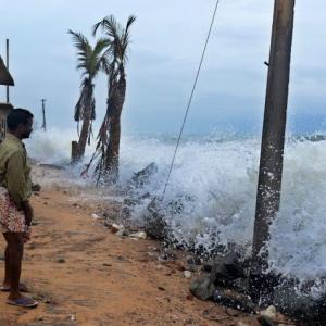 TN, Puducherry brace for cyclone Gaja