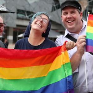 Time for more love! Australia legalises same-sex marriage
