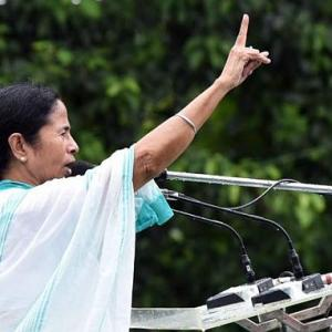Mamata calls BJP a 'militant organisation', dares it to attack her party