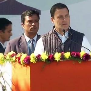 We will fight the politics of anger: Rahul's 1st speech as Cong president