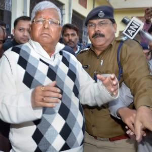 Lalu gets interim bail in IRCTC scam