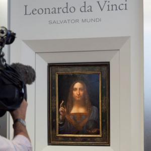 Da Vinci painting sells for record $450 million