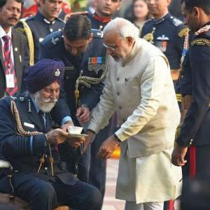 PM Modi mourns the loss of Marshal of IAF Arjan Singh