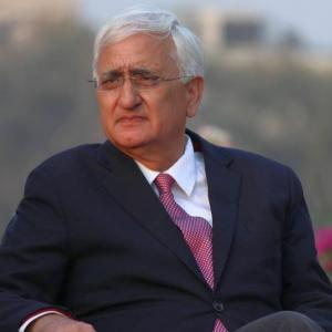 Congress' hand stained with Muslims blood, says Salman Khurshid