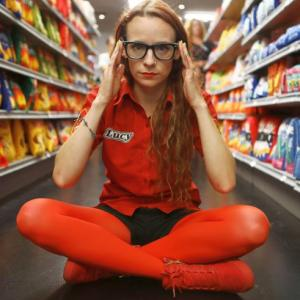 Inside the supermarket full of items you can't really eat