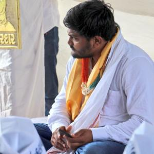 Hardik Patel sits on indefinite fast for Patidar quota