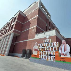 Inside BJP's 1.70 lakh sq ft newly-inaugurated head office